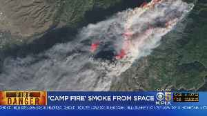Team Coverage: Fire Crews Battle Camp, Woolsey Fires For 5th Day [Video]
