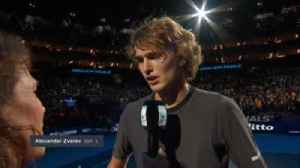 Zverev: Important to start with a win [Video]