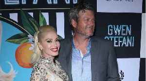 Blake Shelton And Gwen Stefani Share Mushy Moment On Stage At People's Choice Awards [Video]
