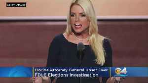 Florida Attorney General Pam Bondi Rips FDLE Over Elections Investigation [Video]