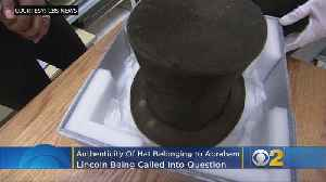 Authenticity Of Hat Belonging To Abraham Lincoln Being Called Into Question [Video]