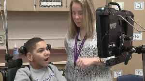 Technology Allows Teen With Cerebral Palsy to Communicate With His Eyes [Video]