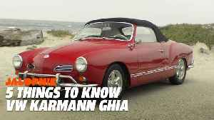 How VW Stole A Chrysler Design For The Karmann Ghia | 5 Things To Know [Video]