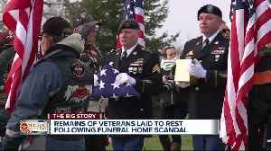20 sets of veterans remains found at Cantrell Funeral Home to be memorialized [Video]