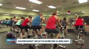 New federal guidelines count short bursts of activity, housework as exercise [Video]
