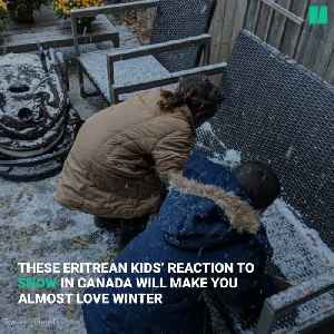 Video Of Newcomers Reacting To 1st Canadian Snowfall Is Heartwarming [Video]