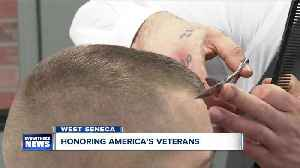 Free haircuts bring together WNY veterans [Video]