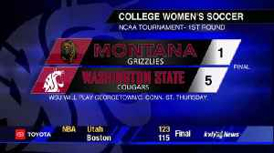 Washington St. soccer advances to 2nd round with 5-1 route of Montana [Video]