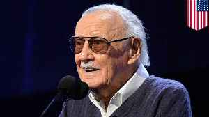 News video: Legendary Marvel comics creator Stan Lee dies aged 95