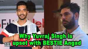 Why Yuvraj Singh is upset with BESTIE Angad Bedi! [Video]