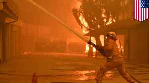 Santa Ana winds could feed Woolsey fire in California [Video]