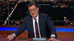 Colbert Remembers Stan Lee: Thanks For The Stories [Video]