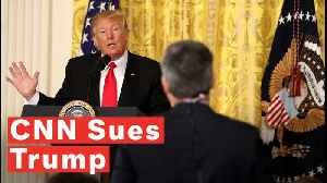 CNN Sues Trump To Restore Jim Acosta's Press Pass [Video]