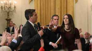 CNN Sues White House Over Jim Acosta Press Credentials