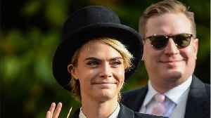 Cara Delevingne Got Permission From Princess Eugenie to Wear a Suit to Her Wedding [Video]