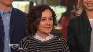 The Talk - Sara Gilbert on Her Children Acting as 'Extras' on 'The Conners' [Video]