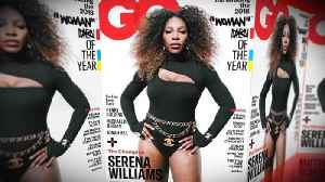 Serena Williams' GQ Cover Criticized for Quote Marks Around 'Woman' [Video]