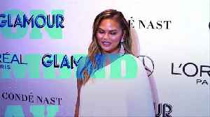 Chrissy Teigen Starts Crying About John Legend on Stage [Video]