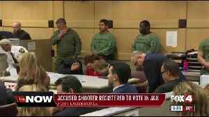 School shooting defendant registered to vote [Video]