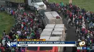 Migrants from caravan arrive in Tijuana [Video]