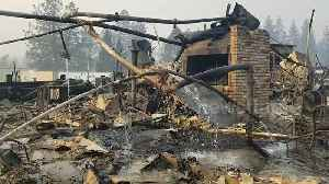 Footage shows restaurant scorched and reduced to rubble in Paradise, California [Video]
