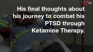 Q&A with local veteran battling PTSD with the help of Ketamine Therapy [Video]