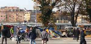Police Clear Migrant Camp Near Rome Train Station [Video]