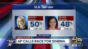Kyrsten Sinema beats out Martha McSally for Flake's Arizona Senate seat [Video]