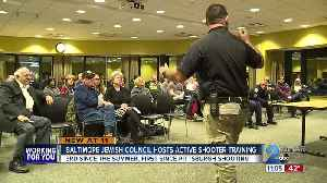 Baltimore Jewish Council host active shooter training session [Video]