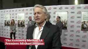Michael Douglas Chats About New Netflix Series 'The Kominsky Method' [Video]