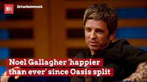 Noel Gallagher Glad He Split With Oasis [Video]