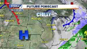 Sunny but cold Tuesday ahead [Video]