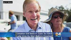 Senator Bill Nelson Sues To Have Late Vote By Mail Ballots Counted [Video]
