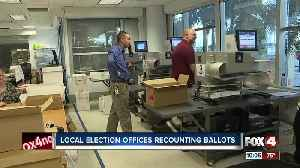 Local election offices recount ballots [Video]