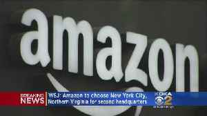 Report: Amazon Will Split HQ2 Between NY, Northern Virginia [Video]