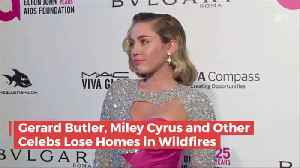 News video: Celebrities Who Lost Homes In California To Wild Fires