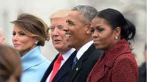 Michelle Obama Couldn't Smile At Trump's Inauguration [Video]