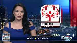 Special Olympics bowling competition this week [Video]