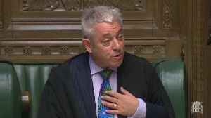 John Bercow Apologises For Terrible Mimicry Skills [Video]