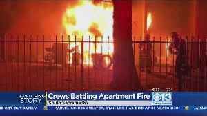 Several Units Damaged In South Sacramento Apartment Fire [Video]