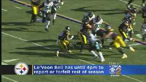Deadline Day Arrives For Steelers' RB Le'Veon Bell [Video]