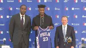 Sixers Introduce Jimmy Butler, Justin Patton [Video]