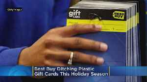 Best Buy Trades Plastic Gift Cards For Paper In Effort To Go Green This Holiday Season [Video]