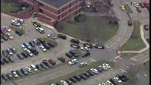 AirTracker 5 flying above potential active shooter situation at a Medina Hospital [Video]