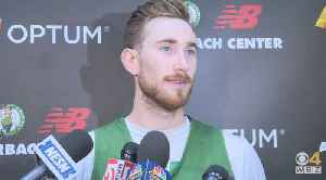 Celtics' Gordon Hayward Offers Support For Brooklyn's Caris LeVert