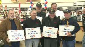 Father, Daughter Veterans Day Breakfast Tradition Continues Despite Deployment [Video]