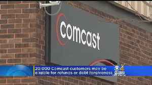 Comcast Agrees To Pay Refunds, Cancel Debts For 20,000 Mass. Customers [Video]