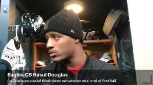 VIDEO: Eagles CB Rasul Douglas explains how he should have defended Cowboys crucial third-and-15 play near end of first half [Video]