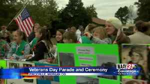 Veterans day Parade And Ceremony [Video]