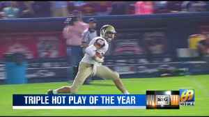 Big Ticket Triple Hot Play of The Year. [Video]